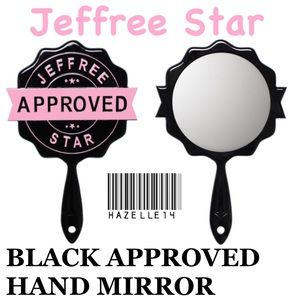 JSC BLACK APPROVED HAND MIRROR